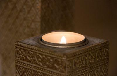 Kerzen Behandlungsraum